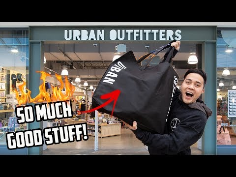 Urban Outfitters for Streetwear? (Shopping VLOG, Haul, Giveaway)