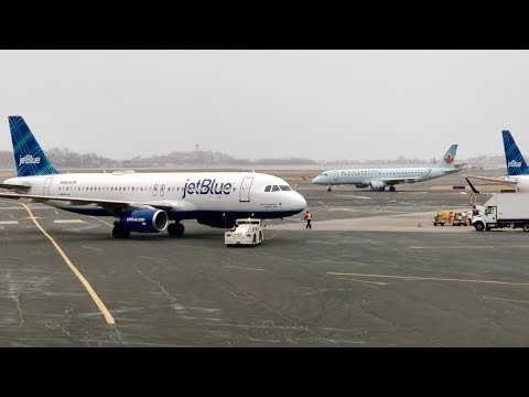 Plane Spotting @ Boston Logan International Airport