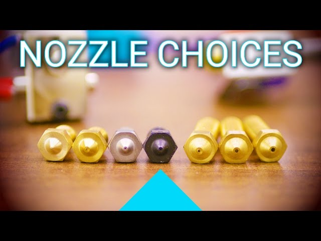 How to pick a 3D printer nozzle and how to install it!