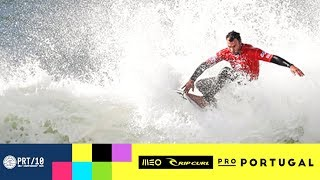 MEO Rip Curl Pro : Michel Bourez costaud dans un Supertubos épique