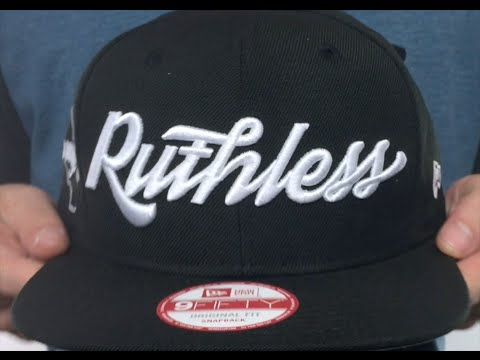 Compton  RUTHLESS SOCAL SNAPBACK  Black Hat by New Era - YouTube e43d499164f