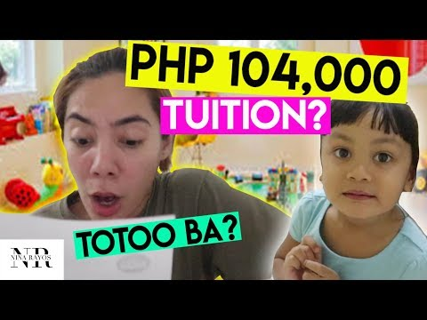 PHP 104,000 TUITION SA SCHOOL! GRABE NAMAN! + ANO ANG BET NAMEN? | Nina Rayos 💋