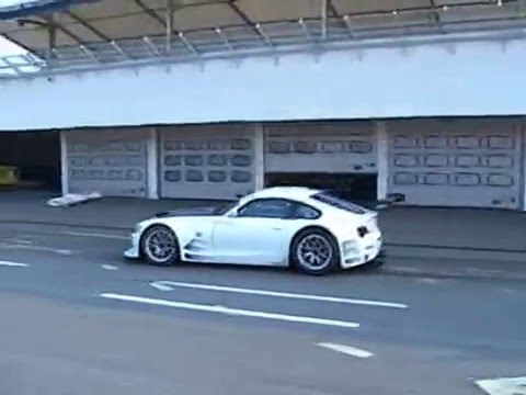 Richard Göransson BMW Z4 Motorsport test