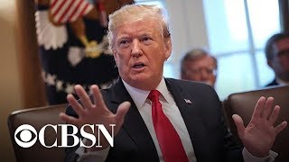 """Trump: Shutdown will last for """"as long as it takes"""""""