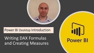 Power BI سطح المكتب مقدمة #4 - DAX الصيغ & خلق التدابير