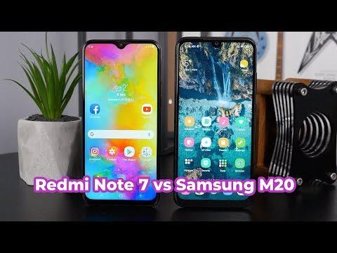 Redmi Note 7 против Samsung M20 / Кто сильнее?