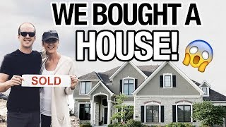 WE BOUGHT A HOUSE!!!