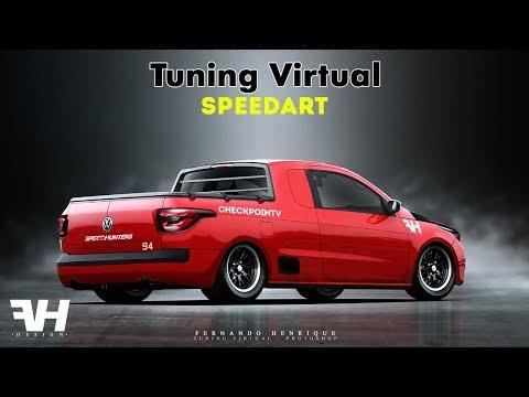 VW Saveiro - Part 02 - Tuning Virtual (#photoshop)