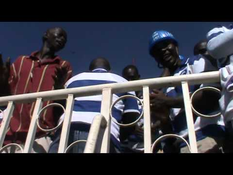 Ingwe fans cheering against Mathare in October