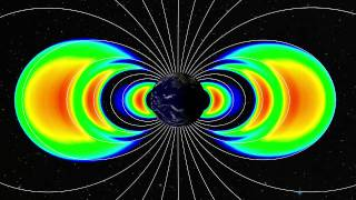 Visualization of Radiation Belts from REPT Data