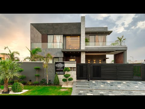 1 Kanal House by Mazhar Munir Sector D Phase 6 DHA, Lahore - Pakistan