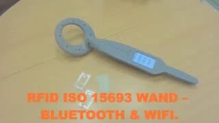 RFID ISO 15693 WAND – BLUETOOTH & WIFI