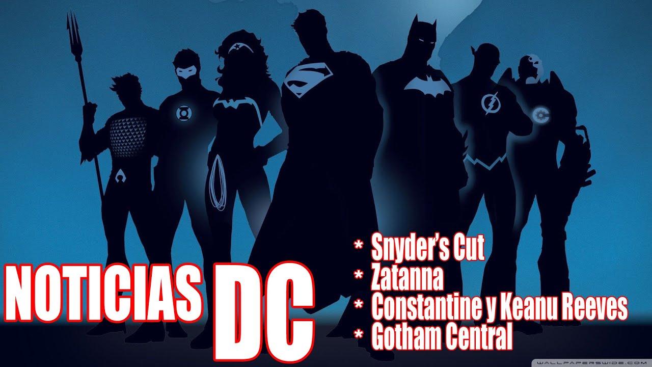 NOTICIAS DC | ZATANNA | CONSTANTINE | DC FANDOME | GOTHAM CENTRAL