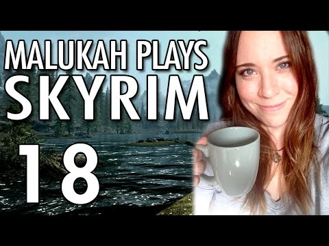 Malukah Plays Skyrim - Ep. 18 - Swimming to Solitude & Other Random Things