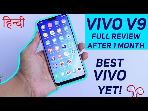Vivo V9 Full Review After One Month   Worth it ? (हिन्दी) by TITBITS