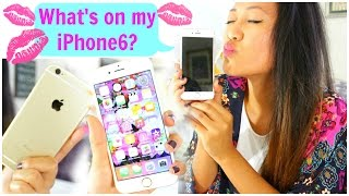 What's on my iPhone 6? + Review!! Thumbnail