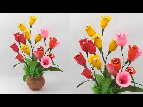 paper-flower-origami-room-decoration-paper-flower-|-easy-paper-flower