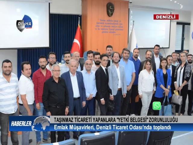 Deha Emlak Müşavirleri DTO'da toplandı 11 10 2018