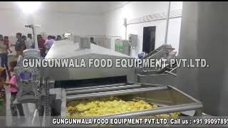 Semi Automatic Potato Chips Making Machine