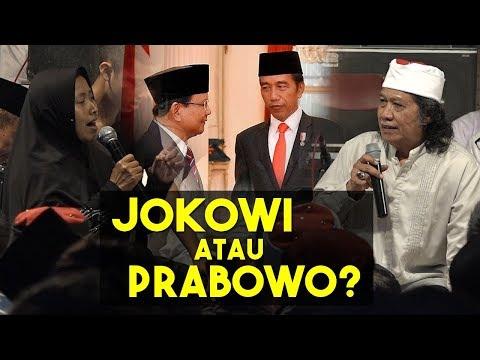 Ditanya Pilih Jokowi Atau Prabowo, Begini Jawaban Dan Saran Cak Nun