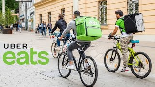 How Much Money Can You Make Cycling For UBER Eats?!