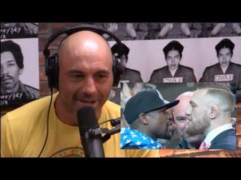 Joe Rogan on McGregor vs. Mayweather Press Tour, Conor's Shit Talking