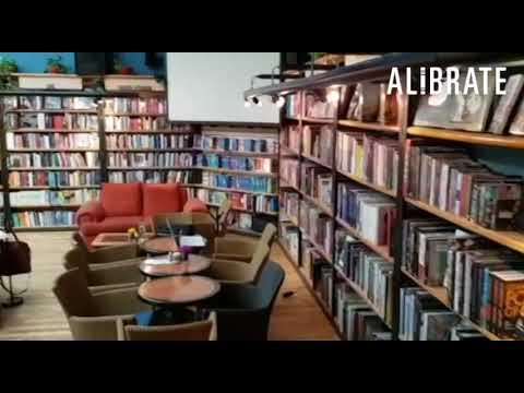 ALIBRATE recorre la Cafebrería El Péndulo de Polanco, Ciudad de México.
