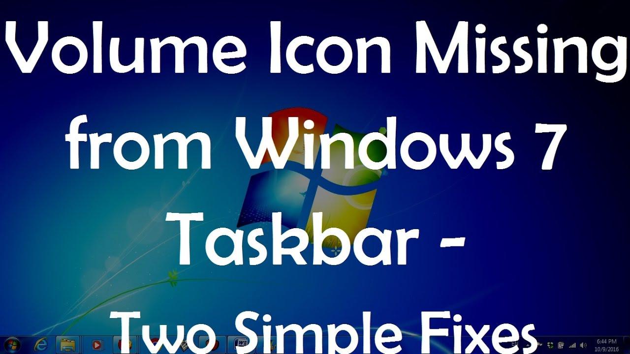 lost bottom taskbar windows 7