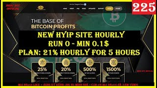VipGoldCash.Com | New Hyip Site Hourly - Run 0 - Min 0.1$ - Plan: 21% Hourly for 5 hours