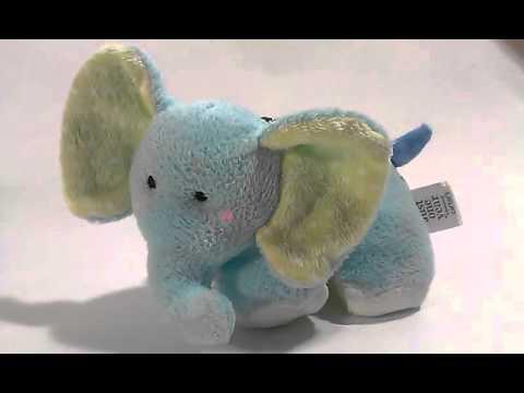 Carters Lullaby Musical Plush Elephant