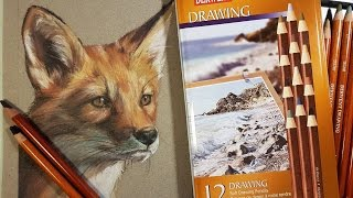 Derwent Drawing Pencil Review & Demo