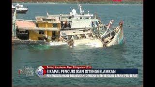 3 Kapal Asing Pencuri Ikan di Perairan Nusantara Ditenggelamkan - BIM 20/08 - Stafaband