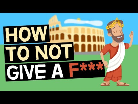 How To Not Give A F*** | Stoic Exercises For Inner Peace