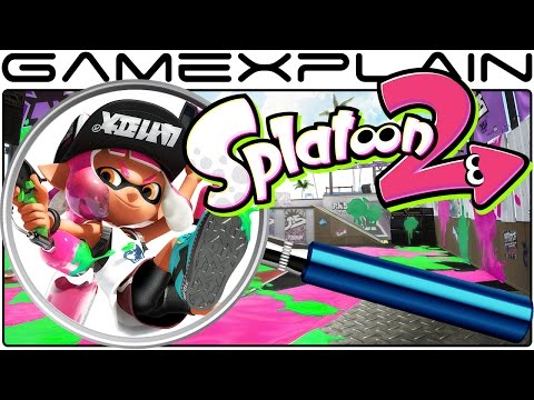 Splatoon 2 ANALYSIS - Reveal Trailer & Treehouse Gameplay (Secret & Hidden Details)