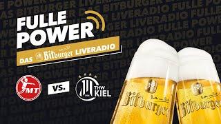 FULLE POWER - Das Bitburger Live-Radio // MT Melsungen vs. THW Kiel (11.09.2021)
