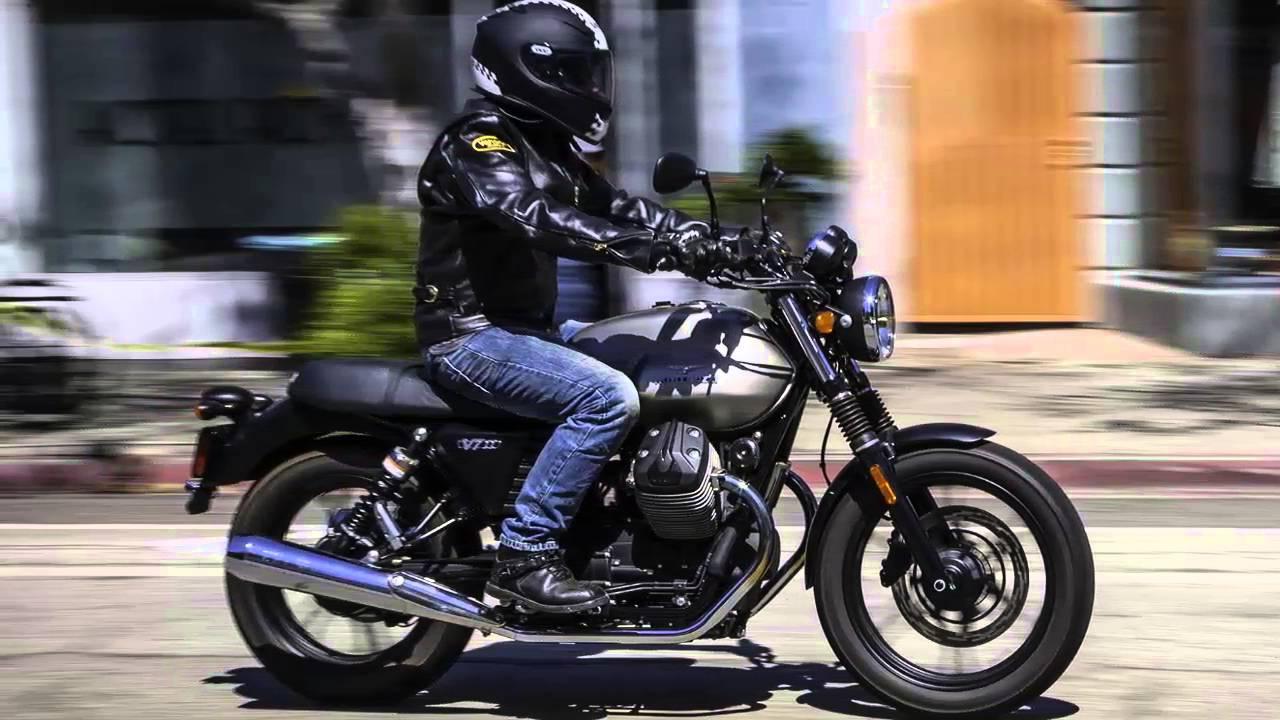 Moto Guzzi V7 Stone Youtube