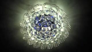 Люстра со светодиодами и LED лампами(Люстра со светодиодной подсведкой и пультом управления. LED лампы ..., 2016-03-12T12:22:28.000Z)