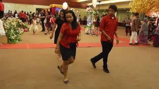 Goyang Jamila Weta di Acara Pernikahan Flores-Batak di Jakarta