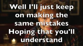Piano Karaoke/Instrumental - Thinking Out Loud (higher key) - Ed Sheeran with lyrics