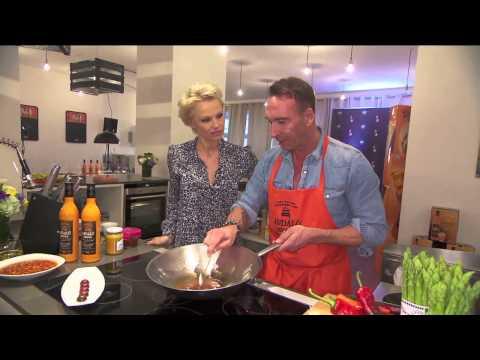 Andalö Midsommar Dinner mit Pamela Anderson in Munich (Part 1)