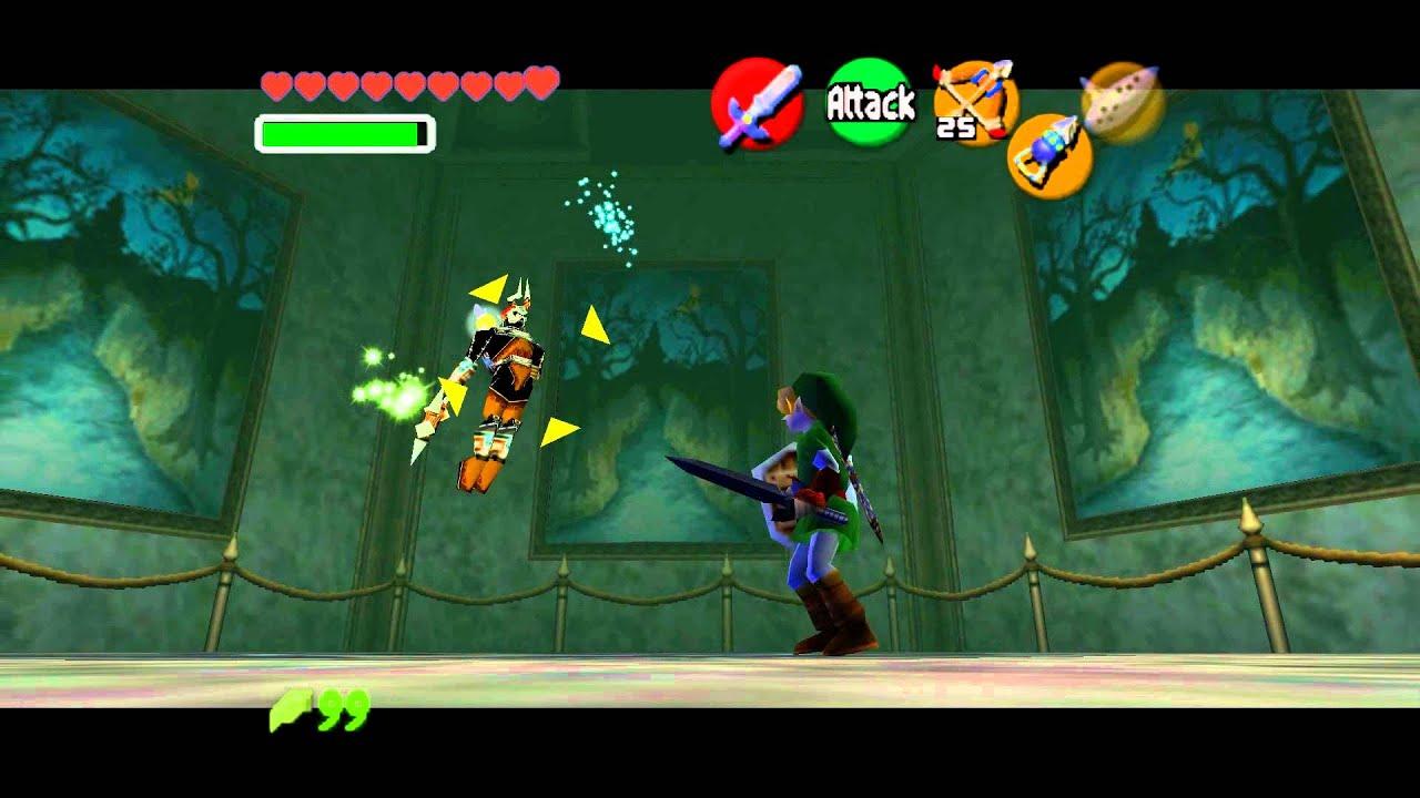 Legend Of Zelda Ocarina Of Time Boss Evil Spirit From Beyond Phantom Ganon 1080p