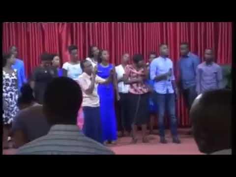 Nukuri Imana yanjye njyewe ndayemera being performed by Glory of God worship team