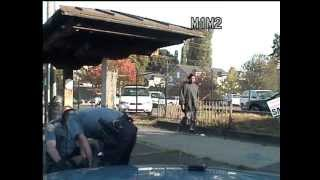Repeat youtube video Leo Etherly strangled and punched twice by Seattle Police