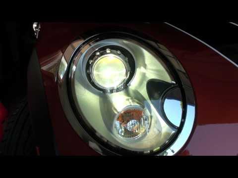 2011 Mini JCW adaptive xenon headlights