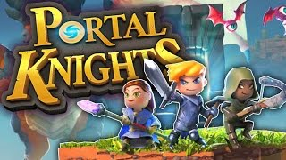 Portal Knights - edycja Gold Throne Edition (PS4) PL