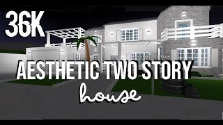 ROBLOX | Welcome to Bloxburg: Aesthetic Two Story House 36k