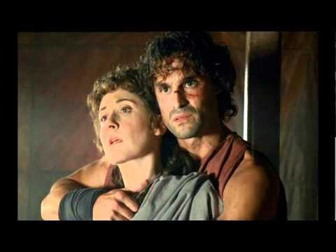 Hispania - Fabio escapa del campamento con Claudia como rehén