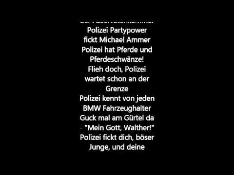 Jan Böhmermann - Ich hab Polizei (lyrics)