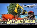Learn Transport and Vehicles for Children | Learning Street Vehicles Names and Sounds for Kids