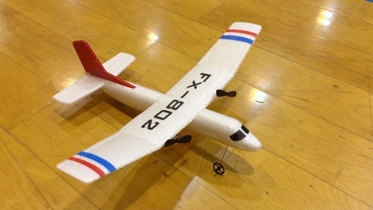 FX 802 Toy 2ch RC Plane Small Gym Flight